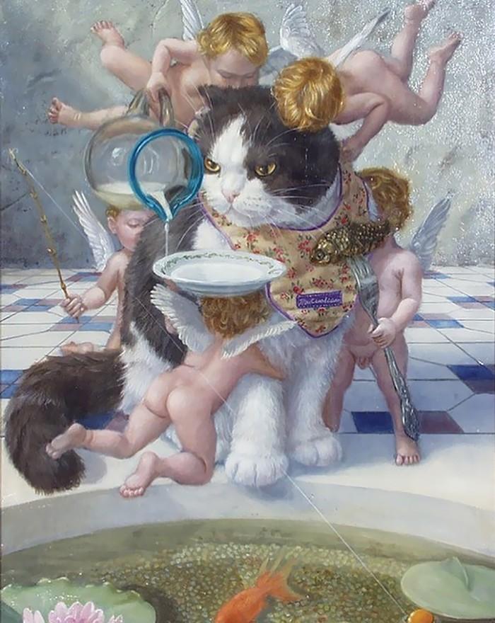 Коты — настоящие короли