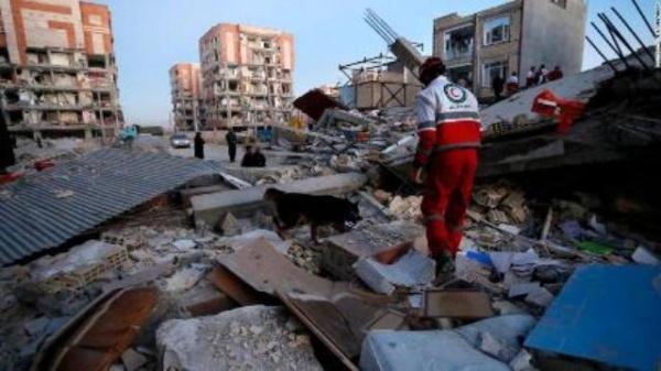 Наюге Ирана произошло землетрясение