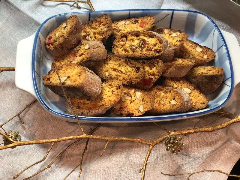 Знаменитое итальянское печенье «Кантучини»