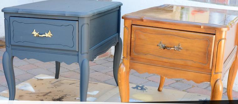 Перекраска старой мебели, или Как изменить интерьер за считанные дни