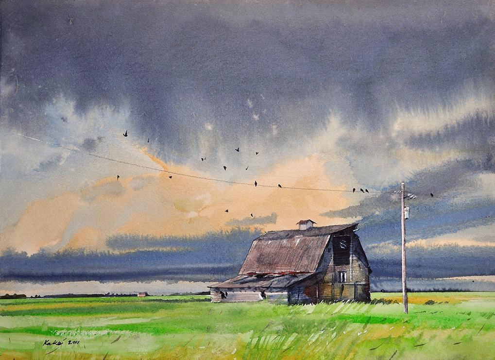 Предвечный свет среди покоя... Канадский художник Bhupinder Singh