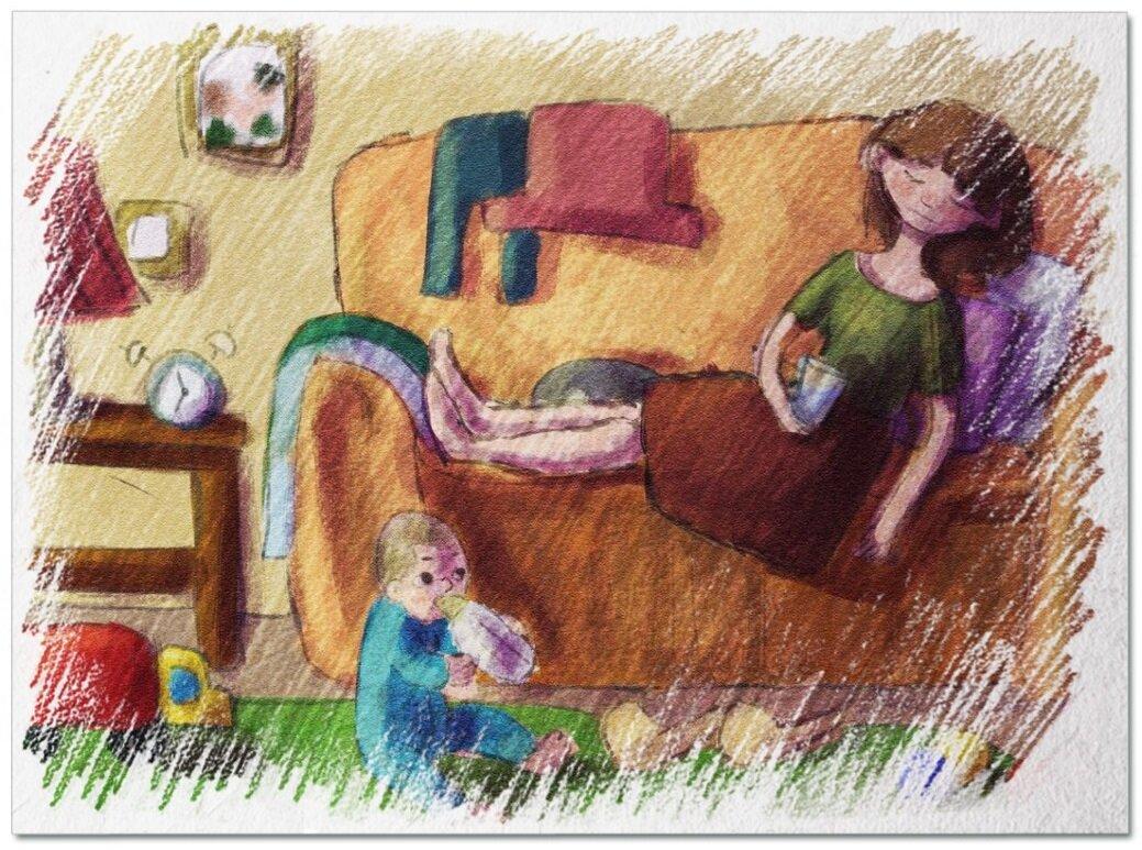 Почему быть «ленивой мамой» полезно