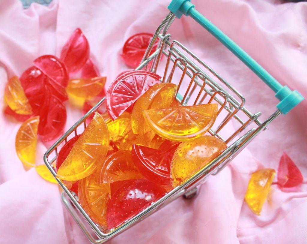 Домашние желейные конфеты бе…