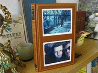 Рамка для фото из ненужной книги