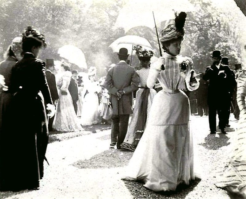 La Belle Epoque 1900 годы Весь Мир в объективе, ретро, старые фото