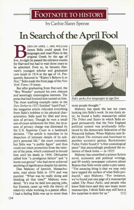 Как пресса разрушила жизнь главного вундеркинда XX века