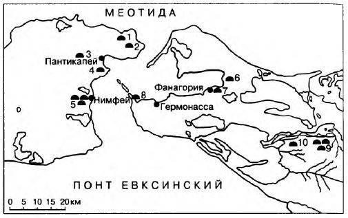 Особенности симбиоза греко-варварских этносов Северного Причерноморья история