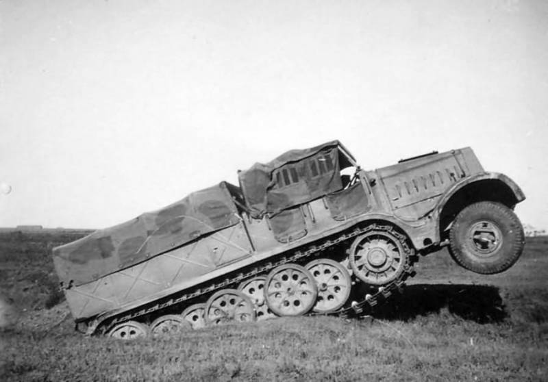Ленинградские испытания немецкого тягача Famo. За пять месяцев до войны оружие