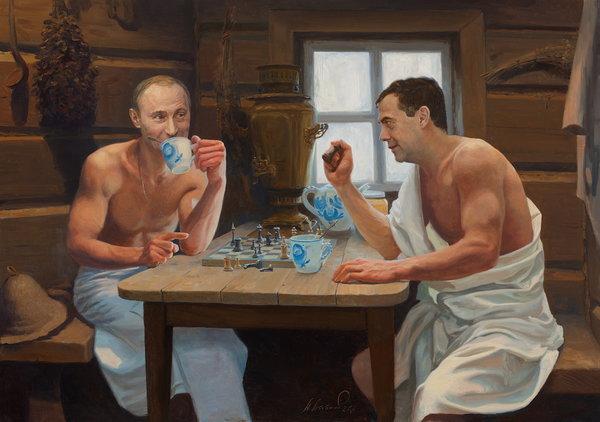 8 вещей, которые только Русские делают в Бане