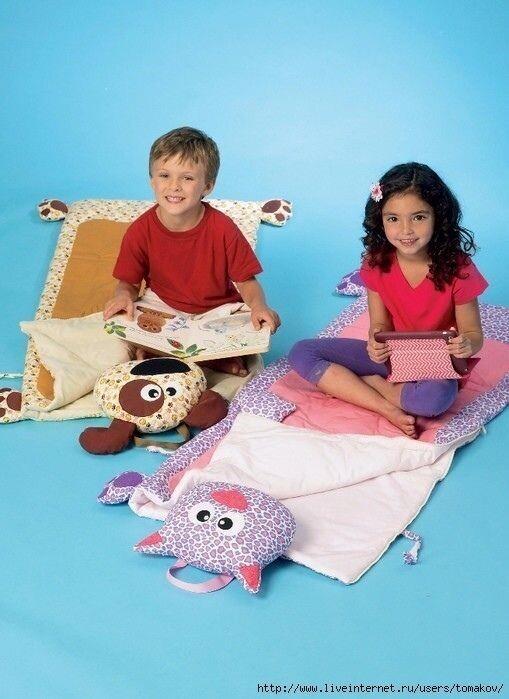 Коврики спальники для деток
