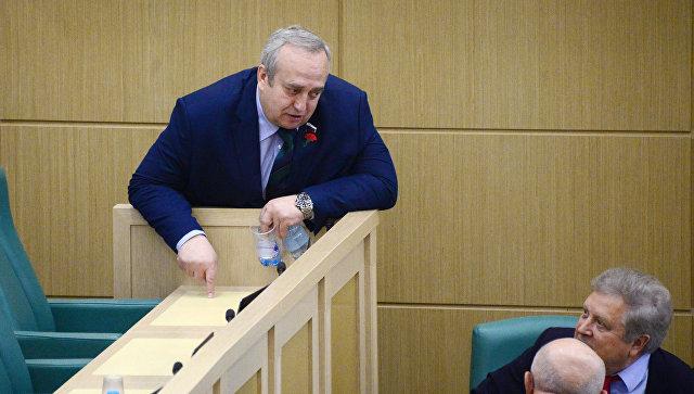 Источник: Клинцевич покинет должность зампреда комитета Совфеда по обороне