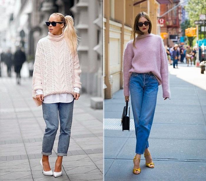 Укороченные джинсы имеют довольно много вариаций кроя. / Фото: ladysovet.ru