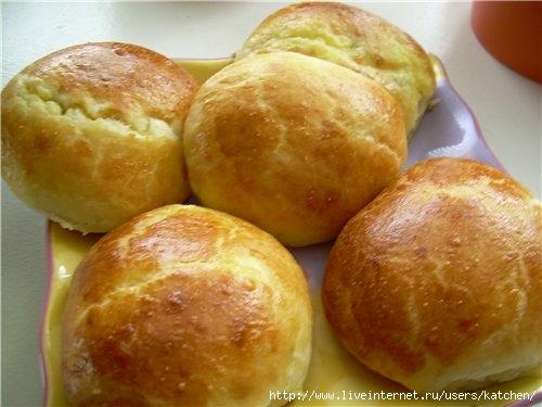 Картофельные заварные эклеры. Рамзия Ra
