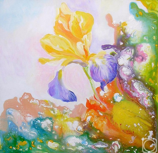 + Рождение цветка (638x620, 449Kb)