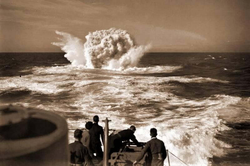"""Морские истории. Шесть побед эскортника """"Ингленд"""" вмф,история"""