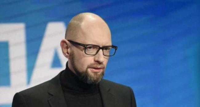 Яценюк призвал украинцев не …