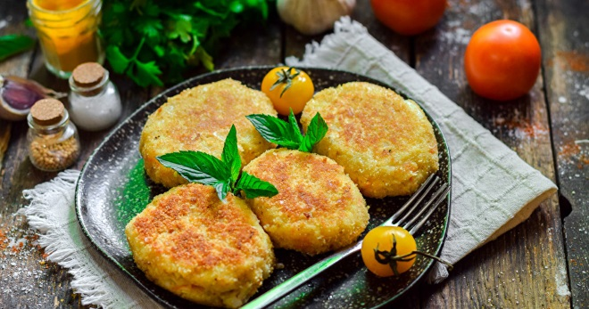 Капустные котлеты - очень вкусно, рецепты всем понравятся! кулинария,овощные блюда,рецепты