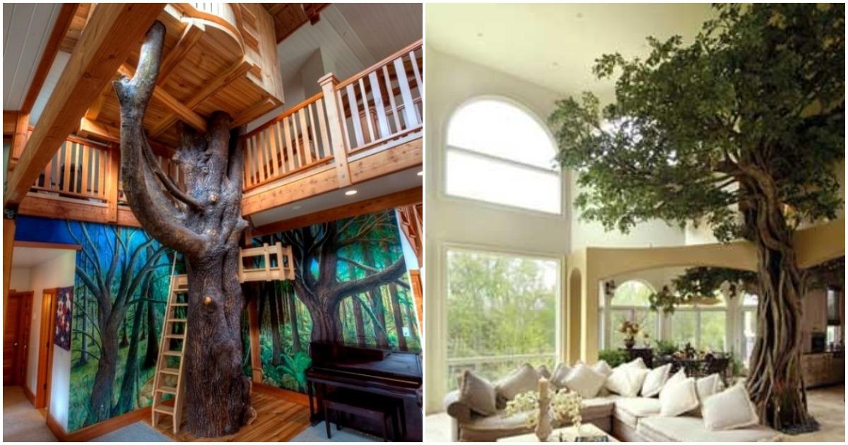 Уникальные проекты современных дизайнеров: когда деревья становятся частью архитектурного замысла