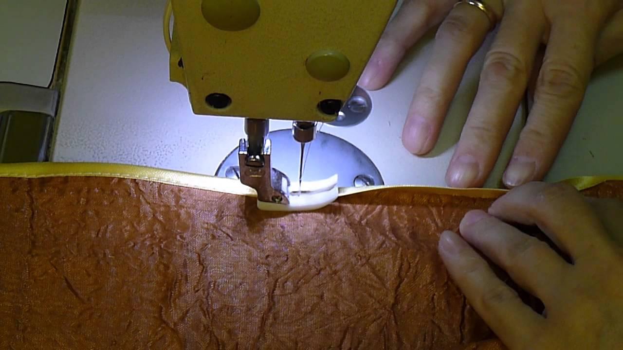 Пришиваем косую бейку косая бейка,рукоделие,своими руками,сделай сам