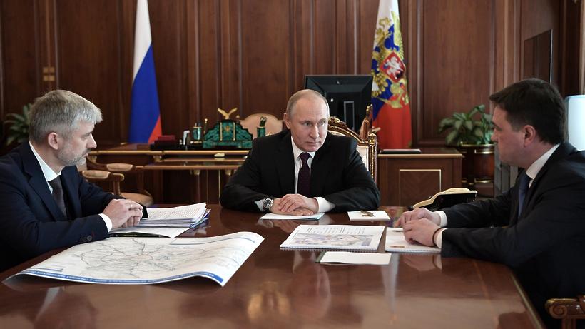 Воробьев рассказал Путину о …