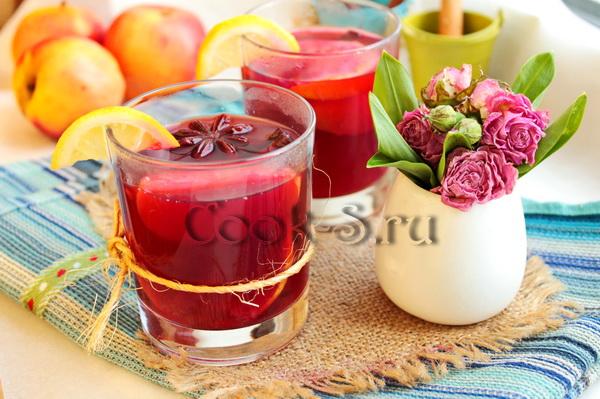 Безалкогольный глинтвейн в домашних условиях напитки