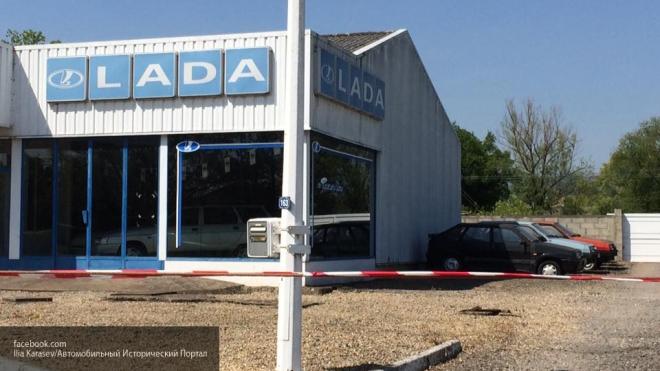 Во Франции нашли брошенный автосалон Lada с автомобилями