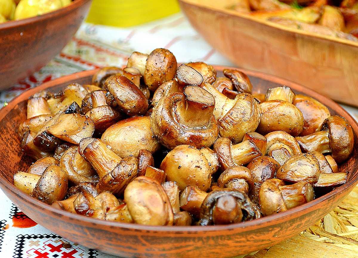 Вкусные и ароматные грибочки