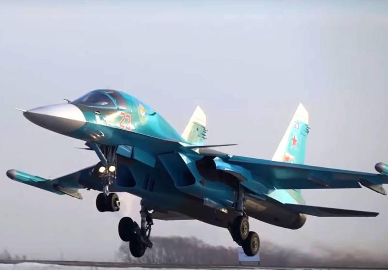 В Китае оценили российский истребитель-бомбардировщик Су-34 ввс