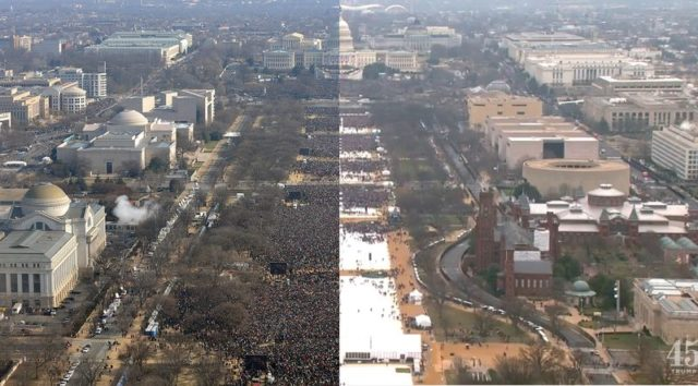 Comparing Two Inaugurations