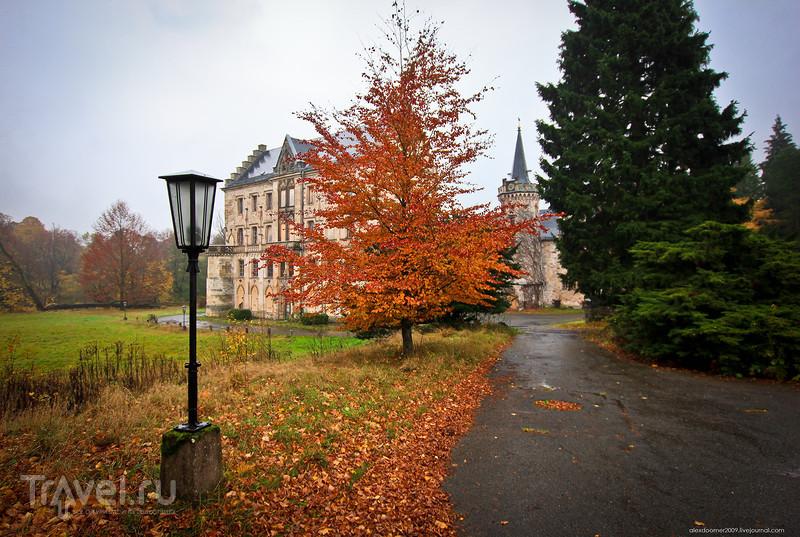 Заброшенный замок Рапунцель