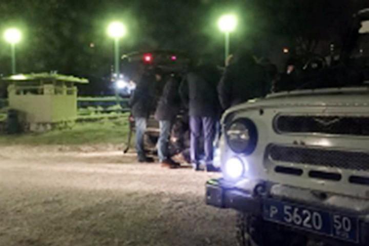В Подмосковье киллер расстрелял бизнесмена на парковке у Ледового дворца