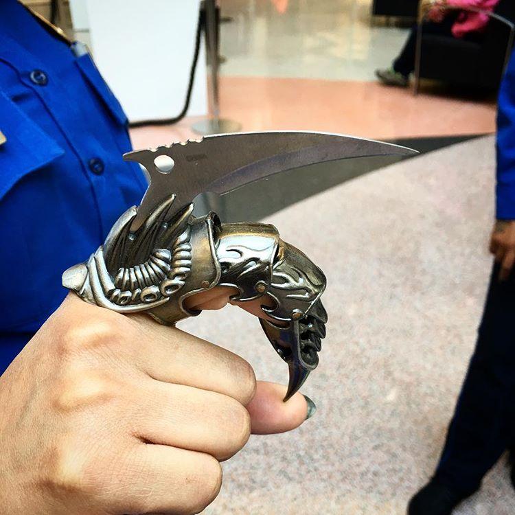 9 примеров неожиданного оружия, конфискованного в аэропортах