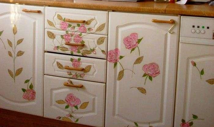 Как сделать старый кухонный гарнитур более презентабельным: 3 бюджетных способа идеи для дома,интерьер и дизайн
