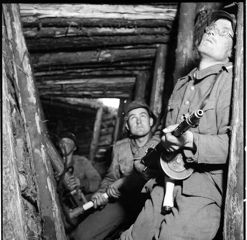 Тактика финской армии в 1941-1944 годах