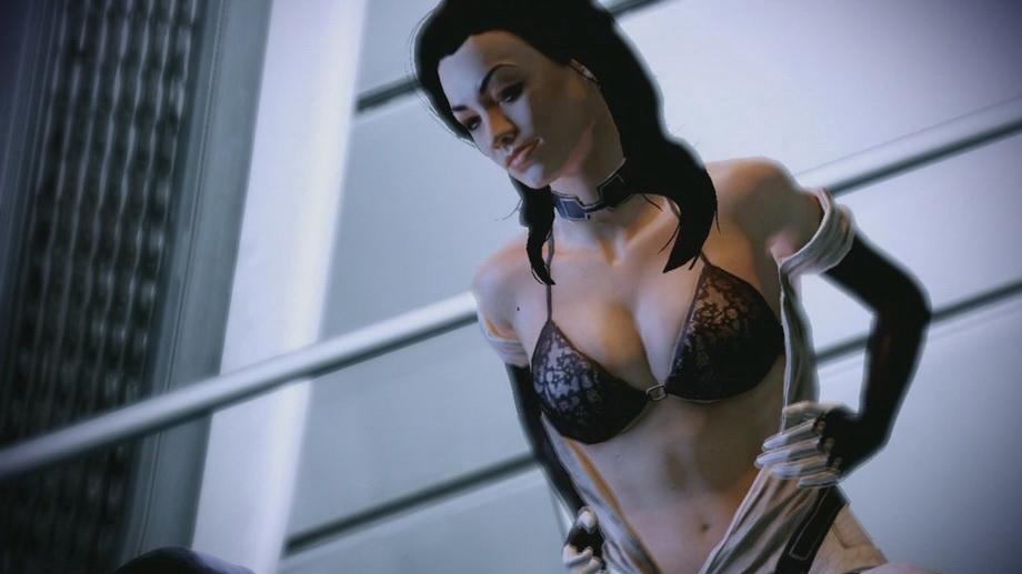 Все секс сцены в игре mass effect