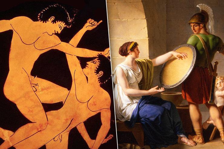 Гомосексуализм в древней греции и спарте