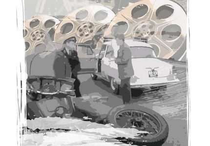 Главная погоня из «Берегись автомобиля»: как проехать под трубовозом