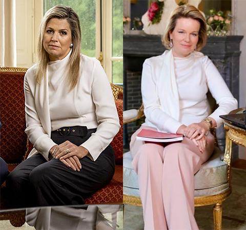 Модная битва: королева Нидерландов Максима против королевы Бельгии Матильды