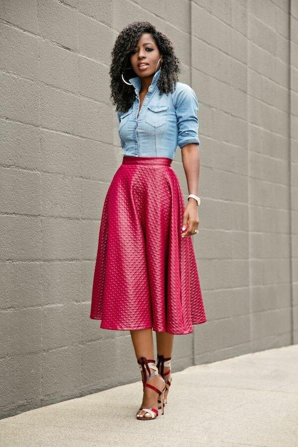 Как выбрать и носить идеальную универсальную юбку