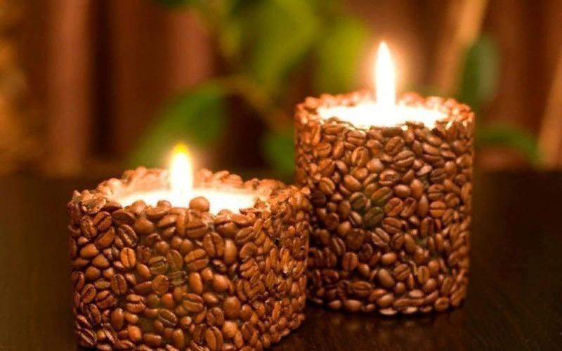 Кофейные зерна в интерьере: 7 идей применения, которые заставят ваш дом благоухать для дома и дачи,интерьер
