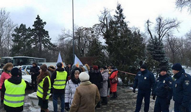 В Одессе подростков задержали на акции в честь 23 Февраля