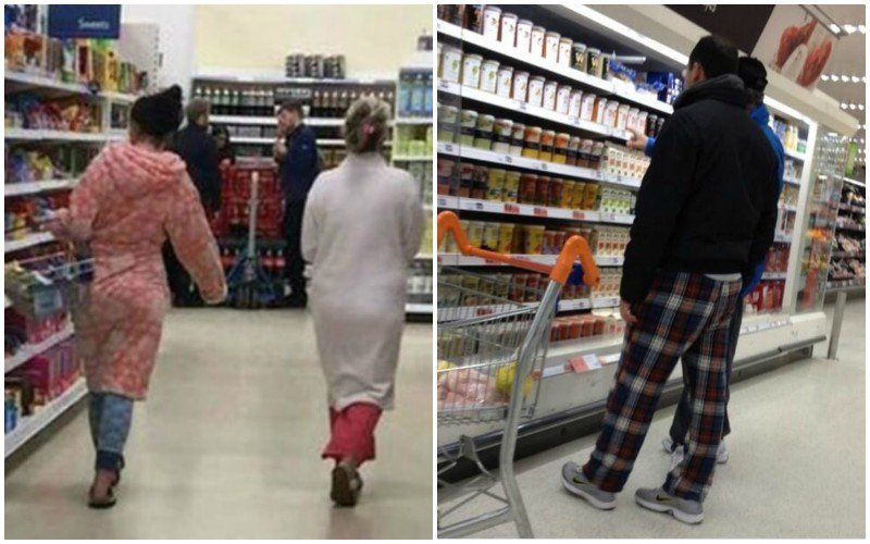 10. Ходить в магазин в пижаме - обычное дело. америка, американцы, в мире, подборка, привычки, разные страны, сша, традиции
