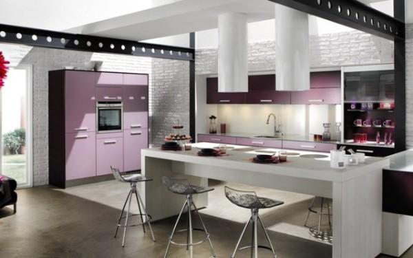 Цвет фасада кухни — как выбрать удачный вариант? (+70 фото)
