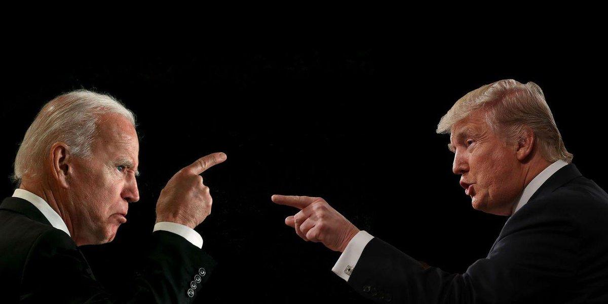 Трамп решил придумать новое прозвище для «страдающего маразмом» Байдена
