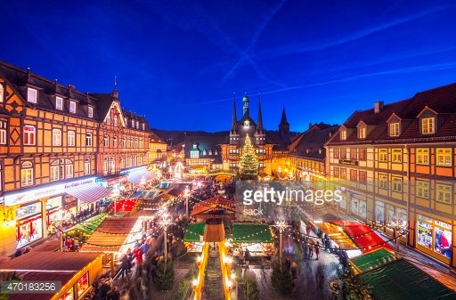 Christmas Market Wernigerode : Stock Photo