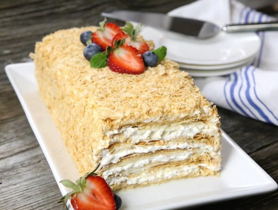 слоеные торты рецепты с фото хотя