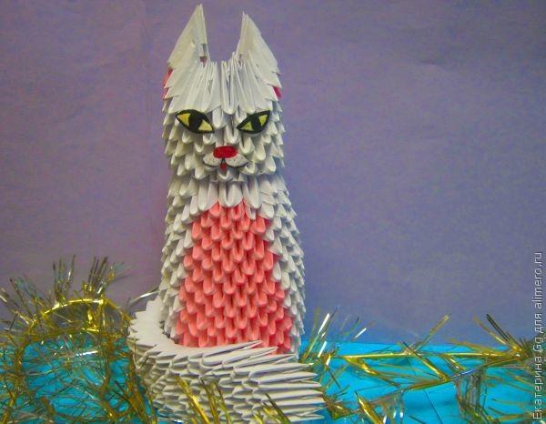 "Оригами ""Кошка"": мастер-класс"