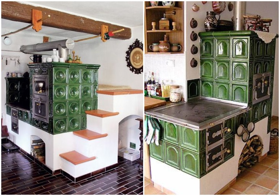 Печь в доме: интерьерные решения, делающие обстановку уютной дом