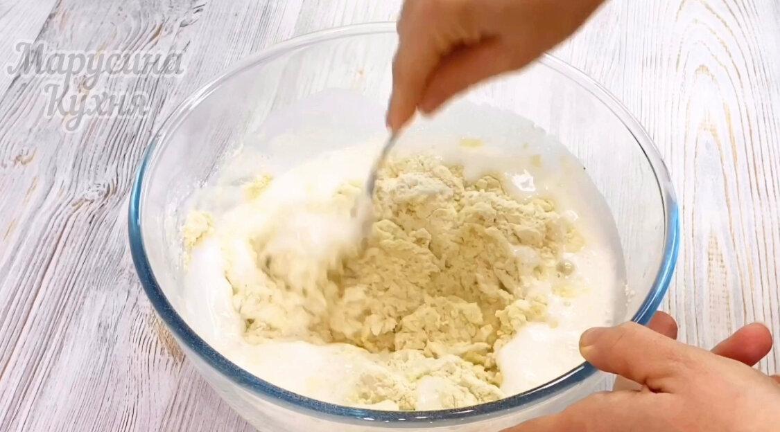 Новый рецепт ленивых беляшей на кефире с фаршем выпечка,кулинария