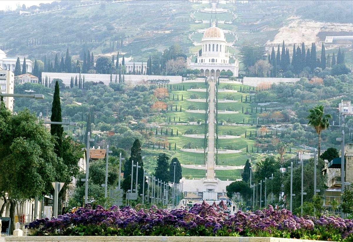 Путешествие в Израильские сады Бахаи